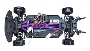 Verschraubte Bauteile RC-Driftcar