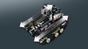 Tracked Racer von Lego Technic.